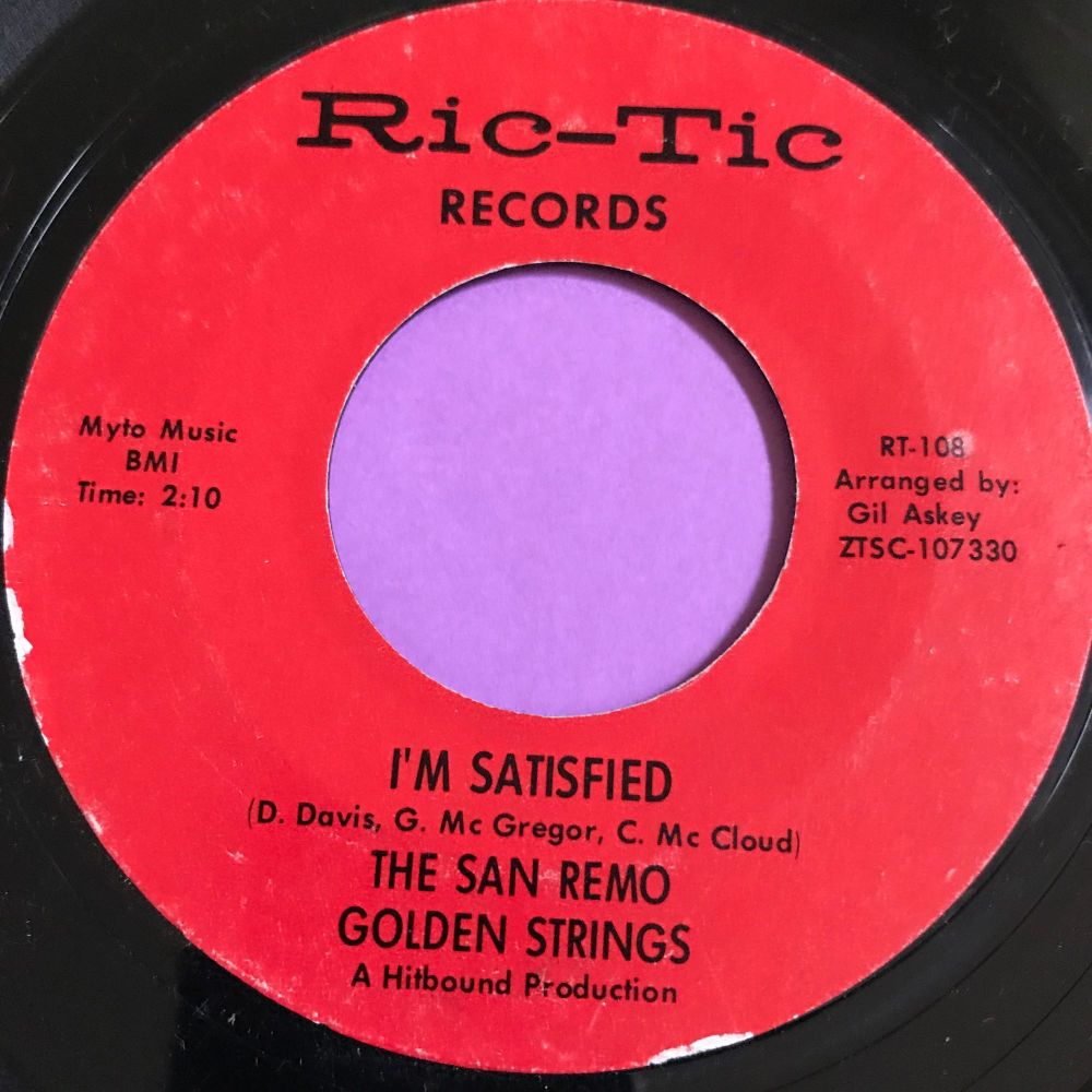 San Remo Golden Strings-I'm satisfied-Rictic E+