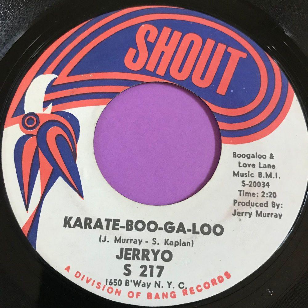 Jerryo-Karate boogaloo-Shout E+