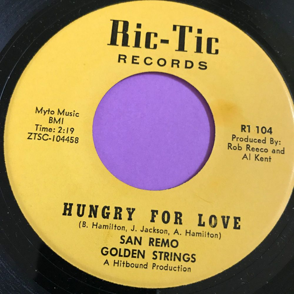 San Remo Golden Strings-Hungry for love-Rictic E+