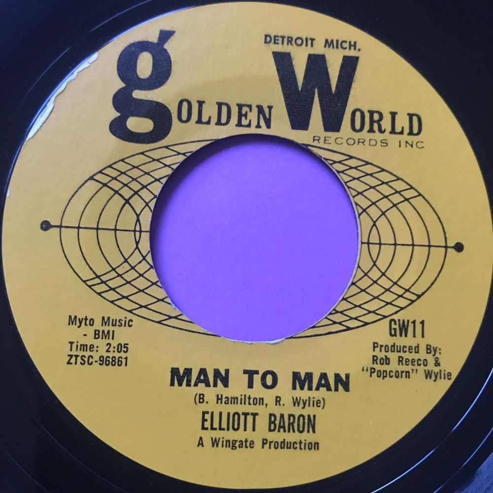 Elliott Baron-Man to man-Golden world E+