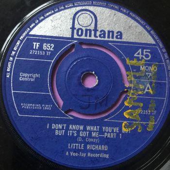Little Richard-I don't know what you've got ...-UK Fontana vg+