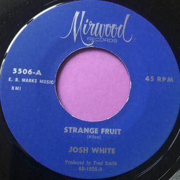 Josh White-Strange fruit-Mirwood E+