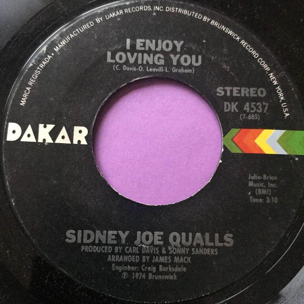 Sidney Joe Qualls-I enjoy loving you-Dakar E+