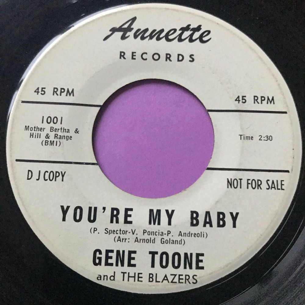 Gene Toone-You're my baby-Annette WD vg+