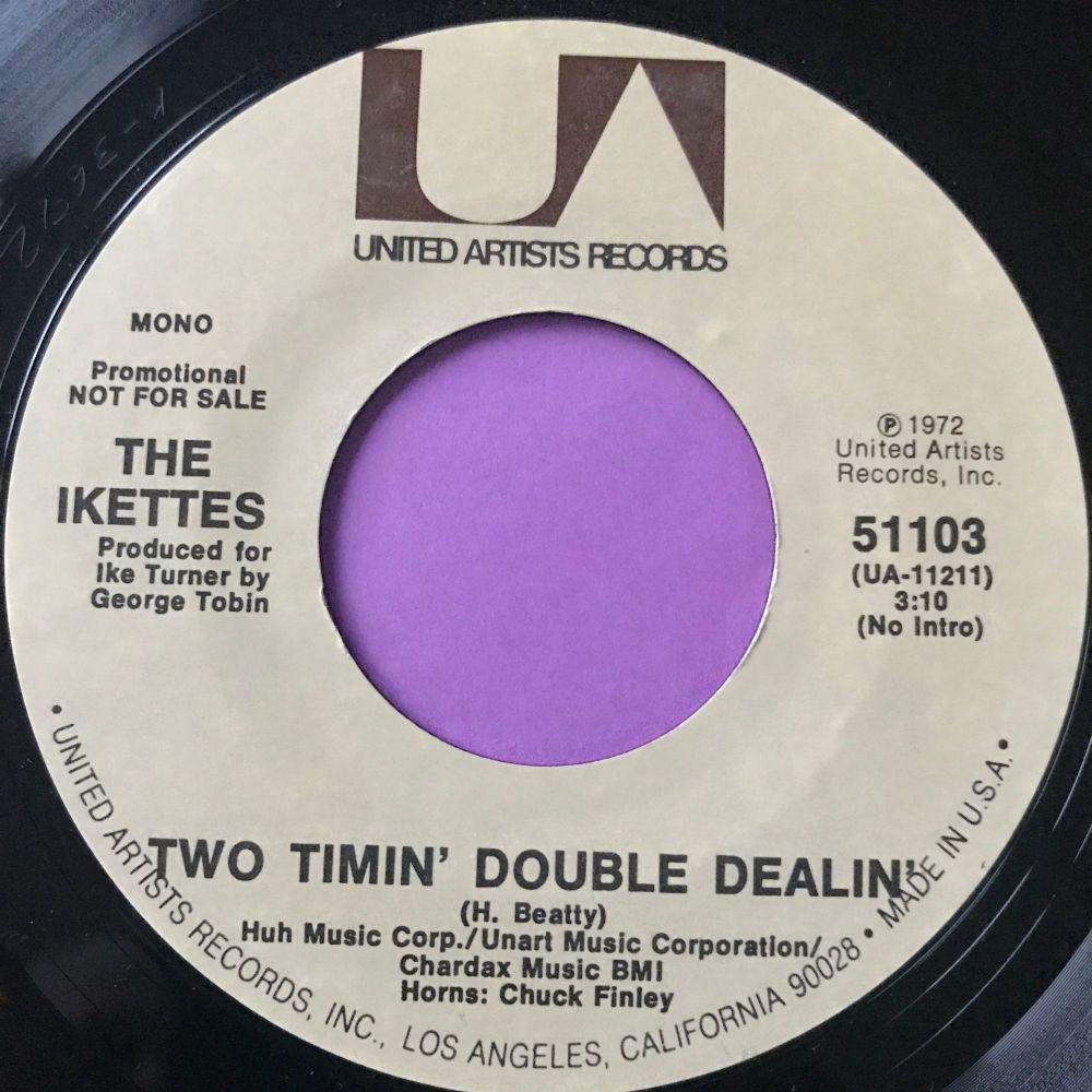 Ikettes-Two timin' double dealin-UA E+