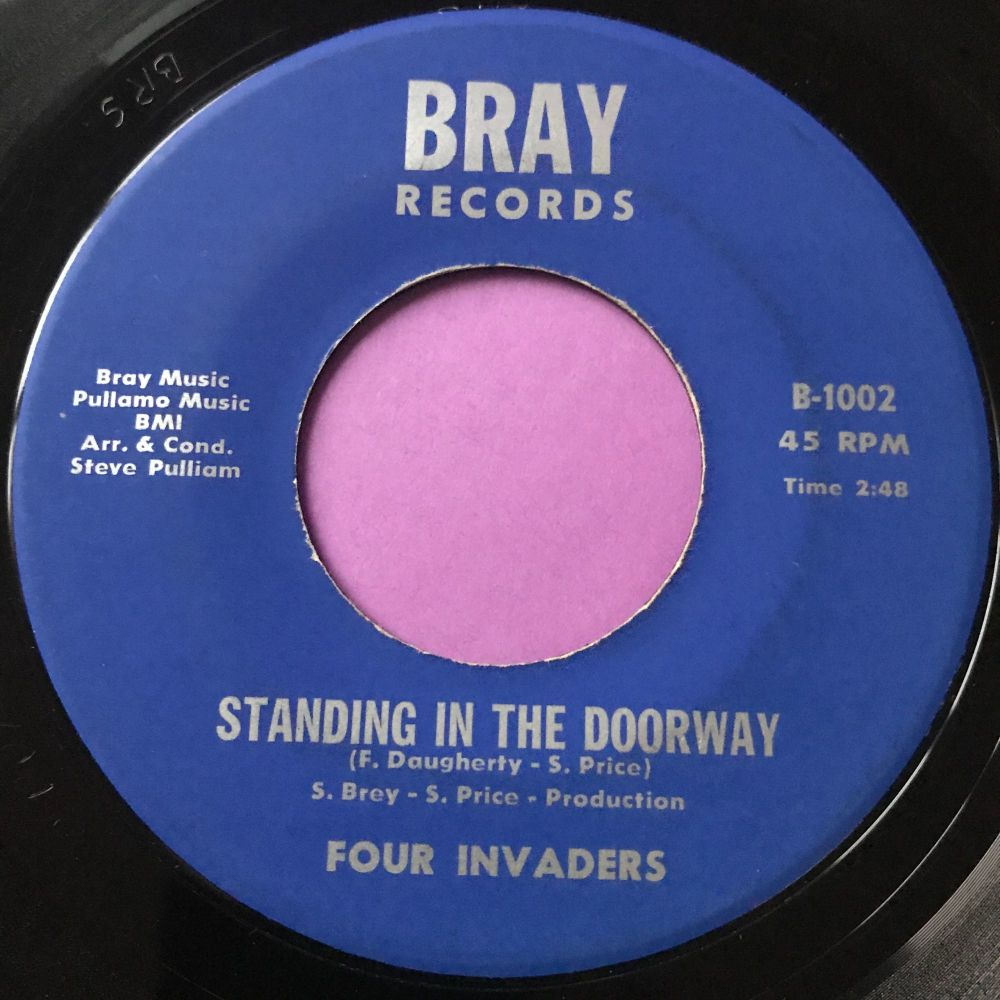 Four Invaders-Making tracks baby-Bray E+