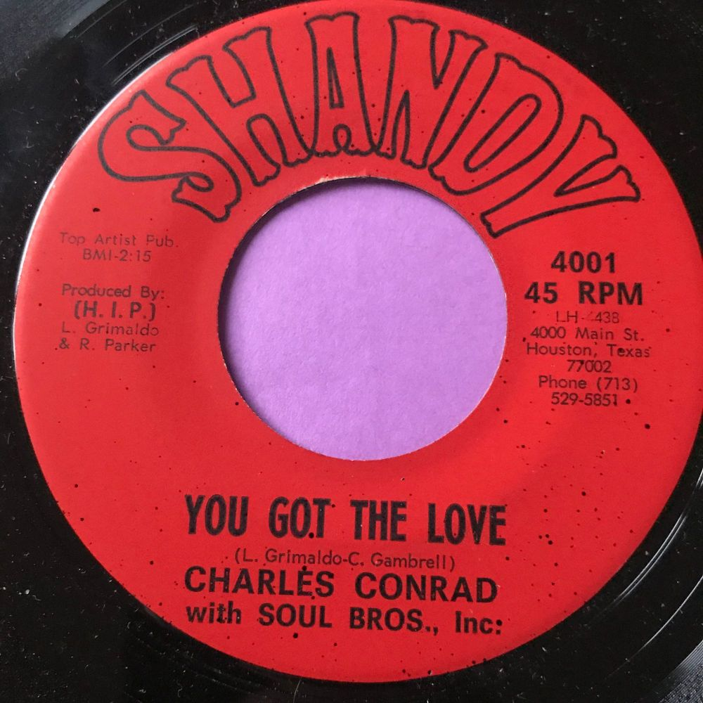 Charles Conrad-You got the love-Shandy E+