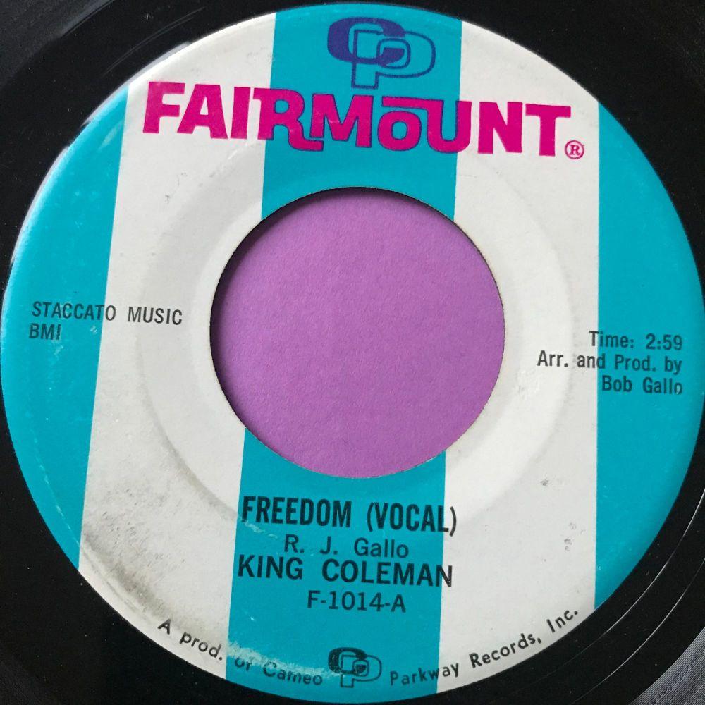 King Coleman-Freedom-Fairmount E+