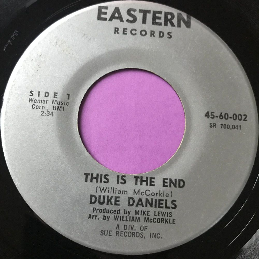 Duke Daniels-This is the end-Eastern E
