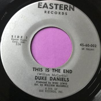 Duke Daniels-This is the end-Eastern E