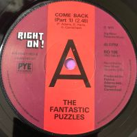 Fantastic Puzzles-Come on back-UK Right on  M-