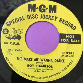 Roy Hamilton-She makes me wanna dance-MGM Demo E+