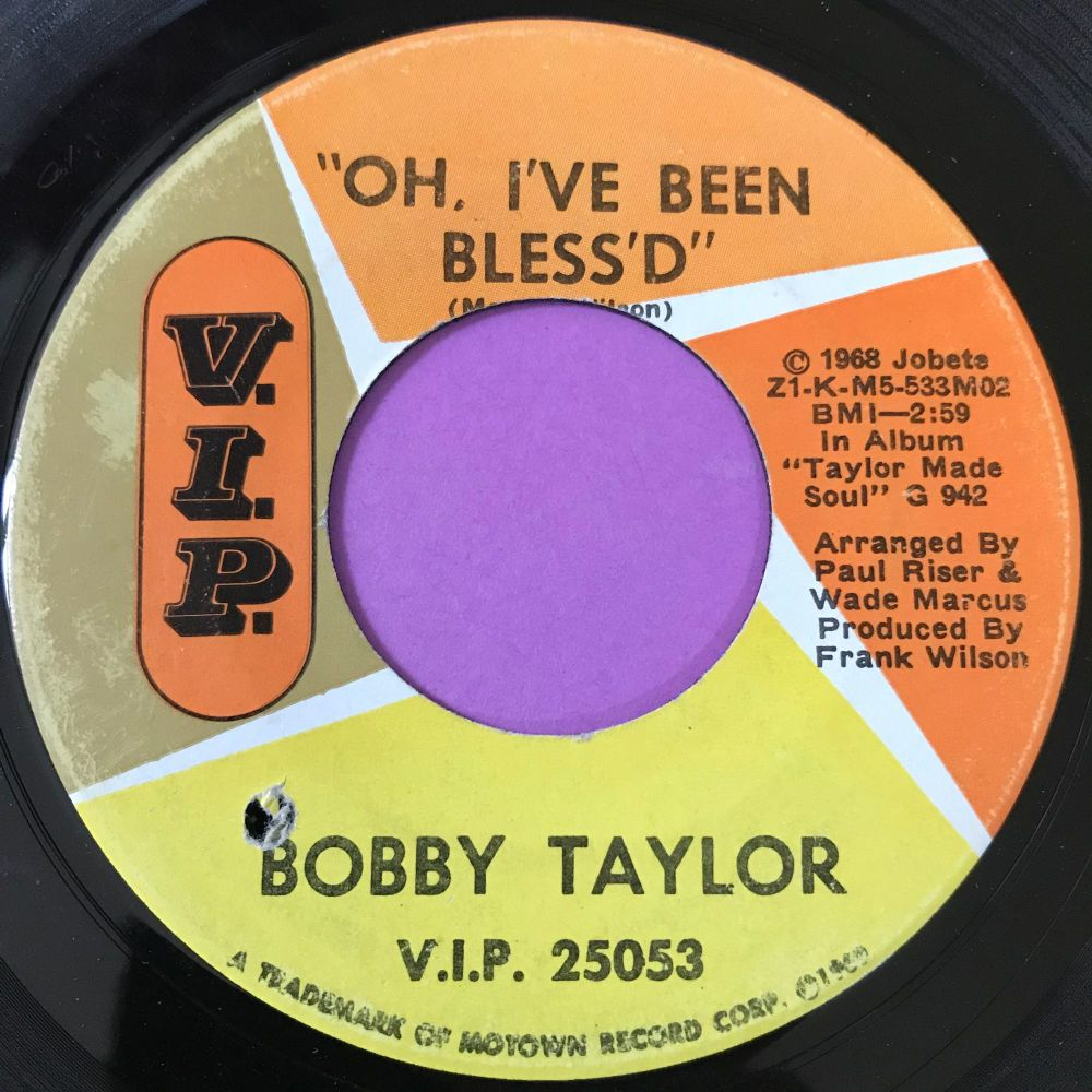 Bobby Taylor-Blackmail/ Oh I've been blessed-VIP E