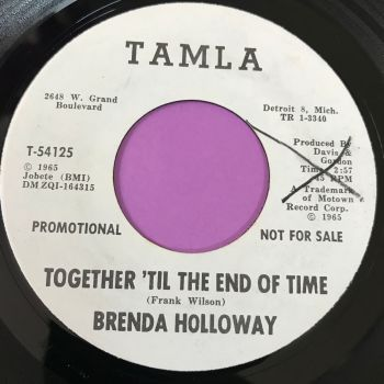 Brenda Holloway-Together 'til the end of time-Gordy WD X E+