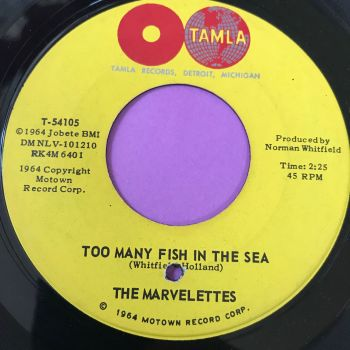 Marvelettes-Too many fish in the sea-Tamla E+