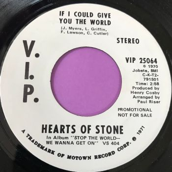 Hearts of Stone-If I could give you the world-VIP M-