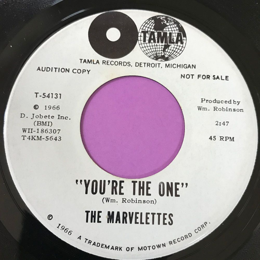 Marvelettes-You're the one-Tamla WD E+