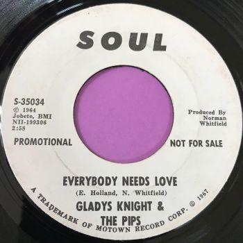 Gladys Knight-Everybody needs love-Soul WD E
