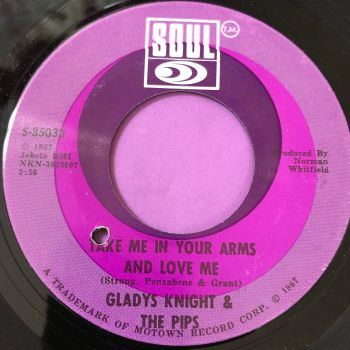 Gladys Knight-Take me in your arms and love me-Soul E+