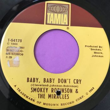 Miracles-baby baby don't cry-Tamla E+