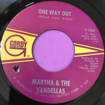 Martha Reeves-One way out-Gordy E+