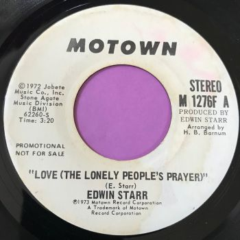 Edwin Starr-Love the lonely people's prayer-Motown WD E+