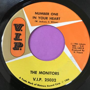 Monitors-Number one in your heart-VIP E