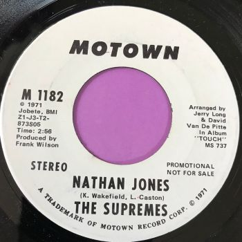Supremes-Nathan Jones-Motown WD M-