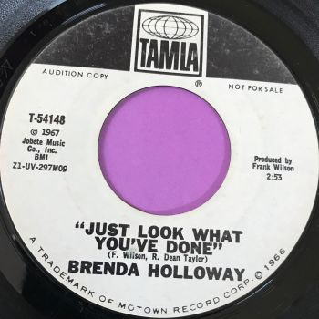 Brenda Holloway-Look what you've done-Tamla WD E+