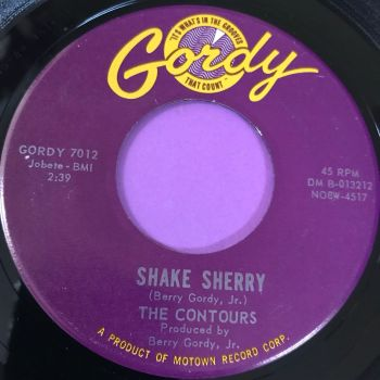 Contours-Shake Sherry-Gordy E+