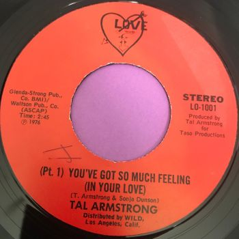 Tal Armstrong-You've got so much feeling-Love wol E+