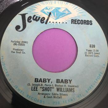 "Lee ""Shot"" Williams-Baby Baby-Jewel vg+"