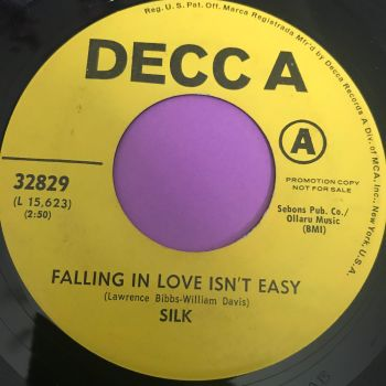 Silk-Falling in love isn't easy-Decca Demo E+