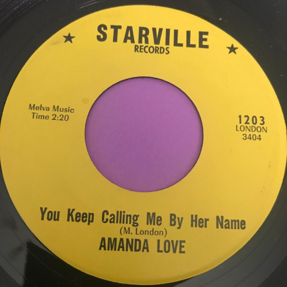 Amanda Love-You keep calling me by her name-Starville M-