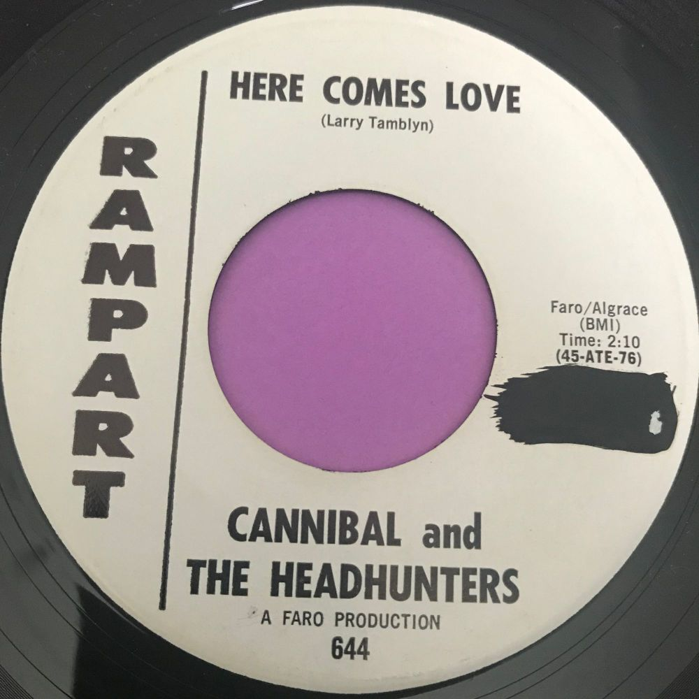 Cannibal and the Headhunters-Here comes love-Rampart WD wol  E+