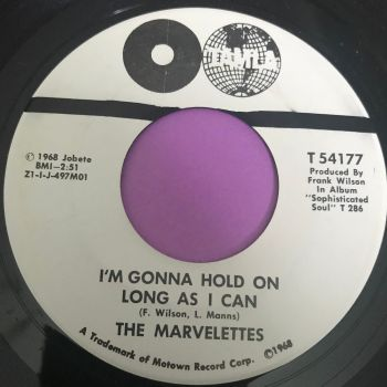 Marvelettes-I'm gonna hold on as long as I can-Marvelettes WD wol E+