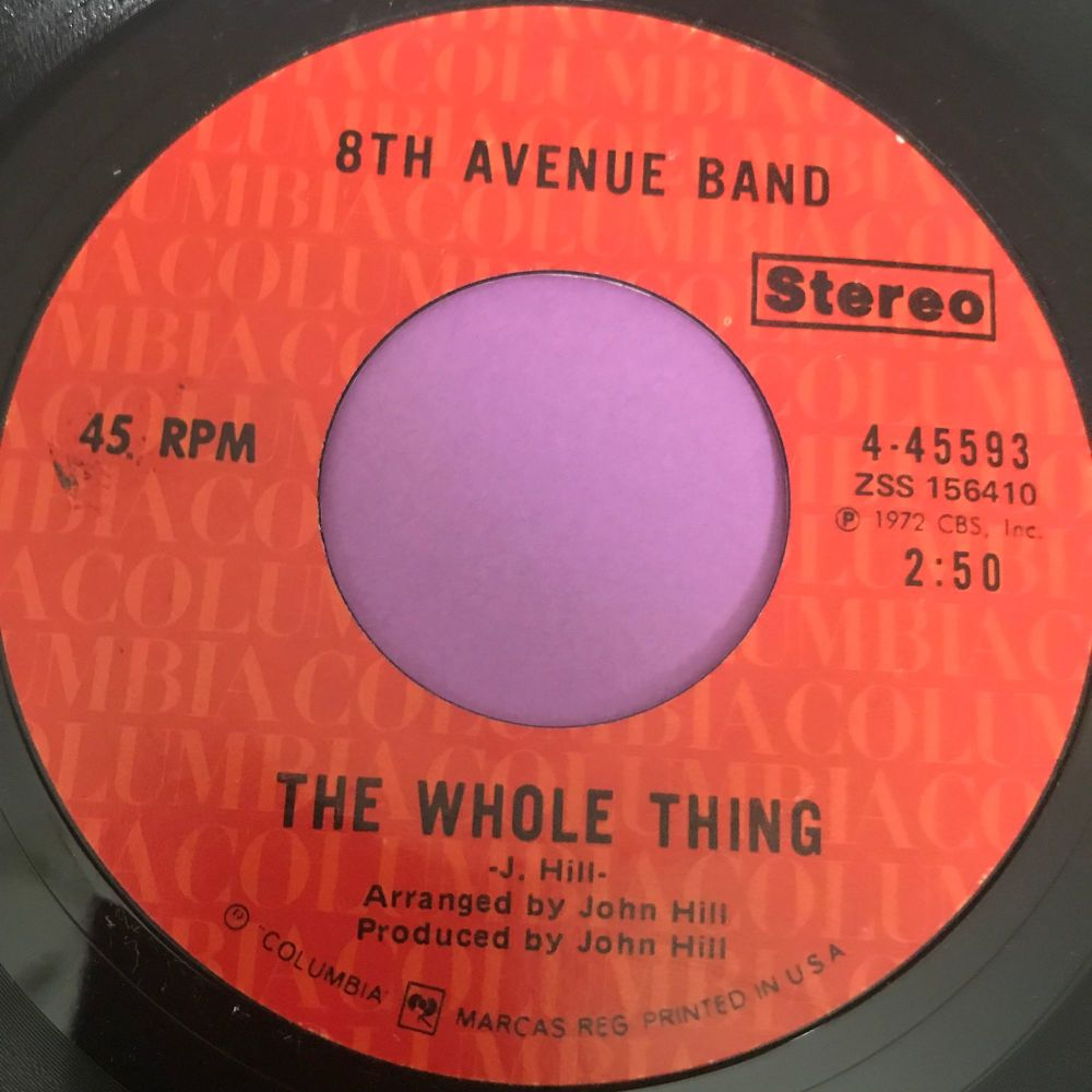 8th Avenue Band-The whole thing-Columbia E+