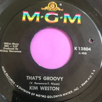 Kim Weston-That's groovy-MGM E+