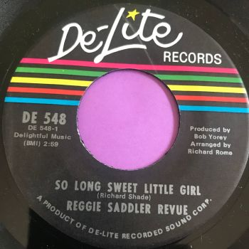 Reggie Saddler Revue-So long sweet little girl-Delite E+