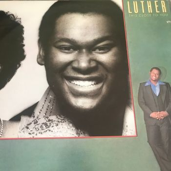 Luther- This close to you-Cotillion LP E+