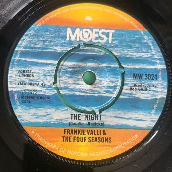Frankie Valli-The night-UK Mowest E