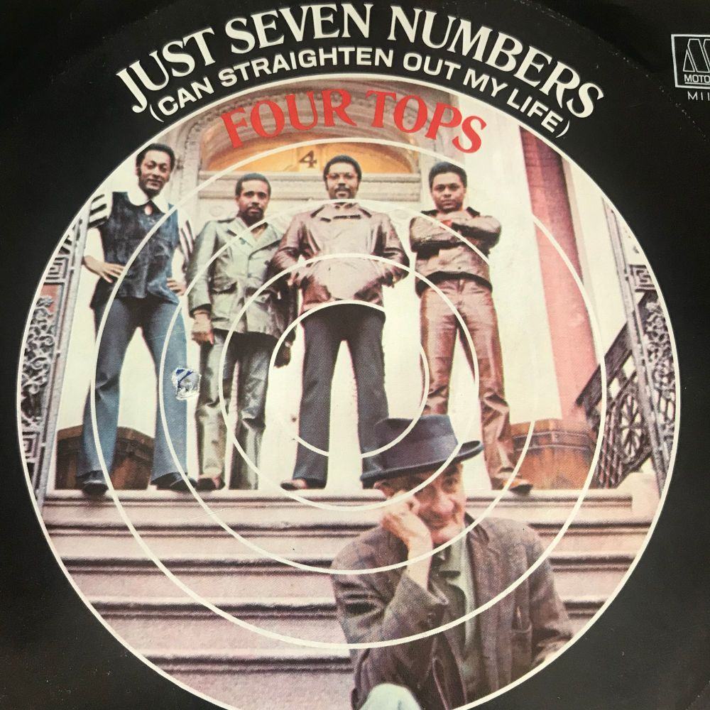 Four Tops-Just seven numbers-Motown PS E+