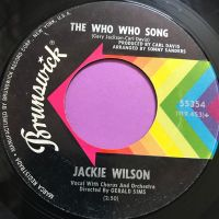 Jackie Wilson-The who who song/Since you showed me-Brunswick E