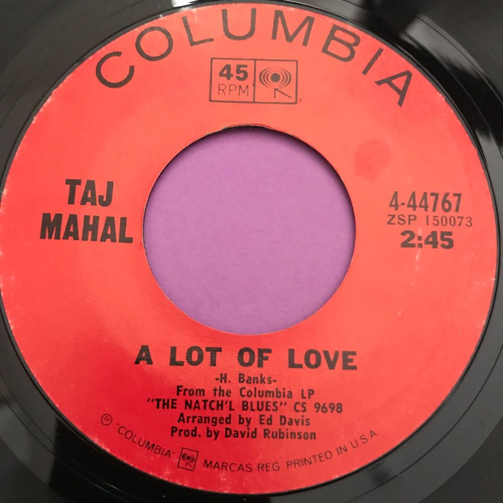 Taj Mahal-A lot of love-Columbia E+