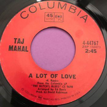 Taj Mahal-A lot of love-Columbia E+