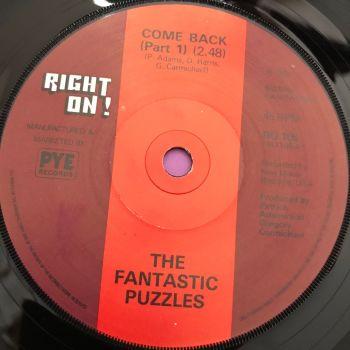 Fantastic Puzzles-Come back-UK Right on E+