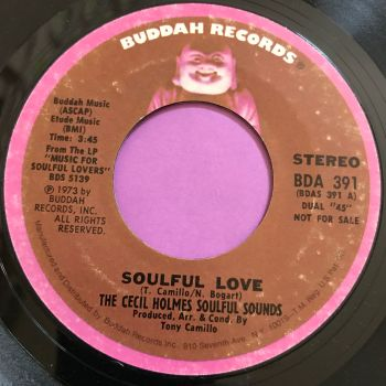 Cecil Holmes-Soulful love-Buddah E+