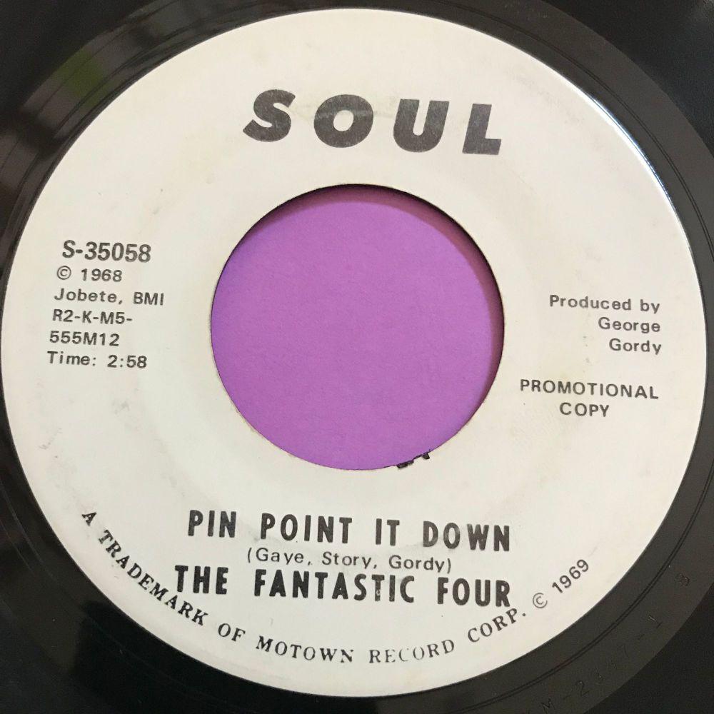 Fantastic Four-Pin point it down-Soul WD E