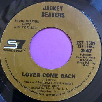 Jackey Beavers-Lover come back-SS7 E+