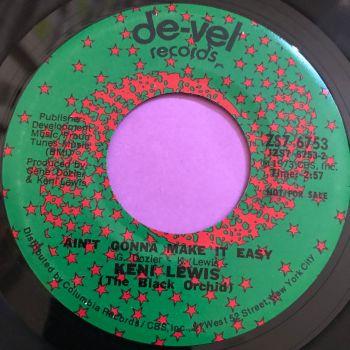 Keni Lewis-Ain't gonna make it easy-Del-Val E